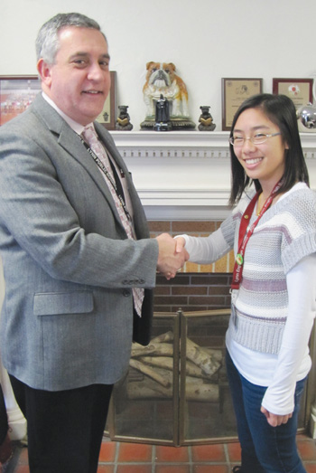 Lynn English Senior Jacqueline Ma is Accepted to Harvard University