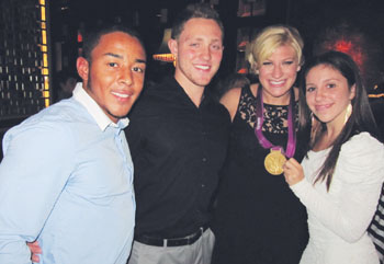 Gold Medal Moment: Antonia Vinciarelli Attends Celebration for Olympic Medalist Kayla Harrison
