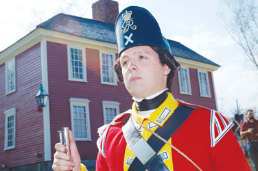 Potter Leads British Charge in Re-Enactments
