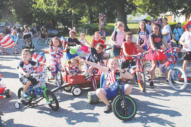 Fourth of July Field Day at Gowdy Park